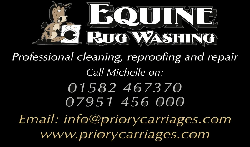 Priory Carriages Equine Rug Washing